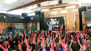 one world rhythm school assembly