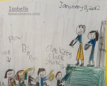Isabella - Student at Madison Elementary School